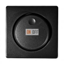 Светорегулятор для ФЛУОРЕСЦЕНТНЫХ ламп (выключатель/переключатель) с максимальной нагрузкой Simon 82 (графит) 75317-39 - 82054-38