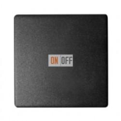 Одноклавишный выключатель Simon 82 (графит) 75101-39 - 82010-38