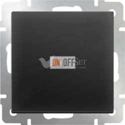 Заглушка Werkel, черный матовый a036560
