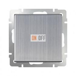 Выключатель одноклавишный проходной (из 2-х мест) 10 AX - 250 В, Werkel глянцевый никель a028843