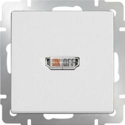 Розетка HDMI Werkel, белый a051121