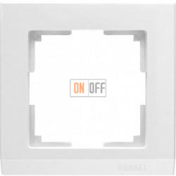 Рамка одинарная Werkel Stark, белый a028921