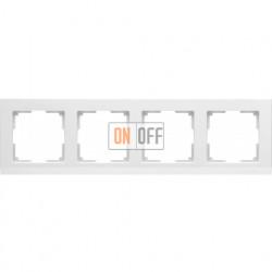 Рамка четверная Werkel Stark, белый a028924
