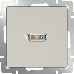 Розетка HDMI Werkel, слоновая кость a036555