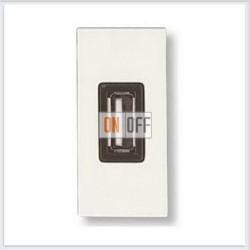 ABB NIE Zenit Бел Розетка USB зарядного устройства, 1М, 750 мА, 1мод. N2185 BL