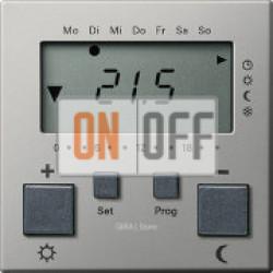 Термостат 230V с таймером и функцией охлаждения, сталь