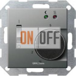 Терморегулятор для теплого пола, датчик воздуха, сталь