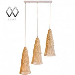 Подвесной светильник MW-Light Ротанг 2210137