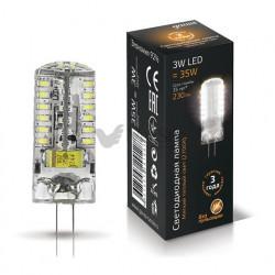 Лампа Gauss LED G4 3W 12V 2700K 207707103