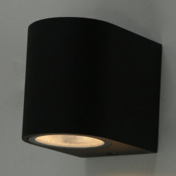 Уличный настенный светильник Arte Lamp A3102AL-1BK