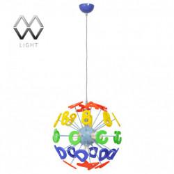 Подвесная люстра MW-Light Улыбка 365013505