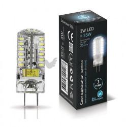 Лампа Gauss LED GY6.35 AC185-265V 3W 4100K 1/20/200 107719203