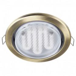 Встраиваемый светильник Maytoni Metal DL293-01-BZ