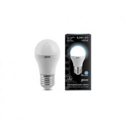 Лампа Gauss LED Globe E27 6.5W 4100K 105102207