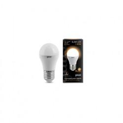 Лампа Gauss LED Globe E27 6.5W 2700K 105102107