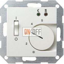 Терморегулятор для теплого пола (оригинальный), цвет Белый, Gira
