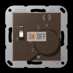 Терморегулятор для теплого пола (оригинальный), цветМокка,A500,Jung