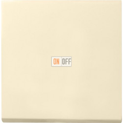 Выключатель 1-клавишный ,проходной (с двух мест), цвет Бежевый, Gira