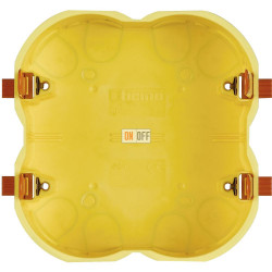 BT Коробка монтажная для полых стен под суппорт 3+3 мод 109х114х51