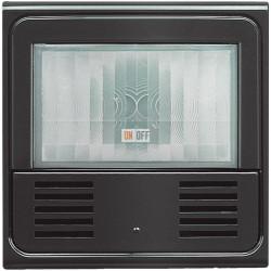 Датчик движения 400Вт (ИК+ультразвук) с ручн.упр. 2-х проводная схема, цвет Антрацит, LivingLight, Bticino