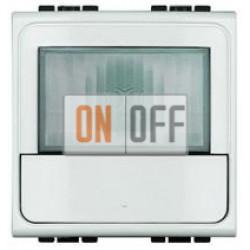 Датчик движения 400Вт с ручн.упр. 2-х проводная схема, цвет Белый, LivingLight, Bticino