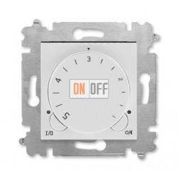 Терморегулятор для теплого пола, цвет Серый/Белый, Levit, ABB