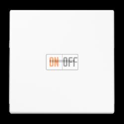 Выключатель 1-клавишный ,проходной с подсветкой (с двух мест), цвет Белый, LS990, Jung