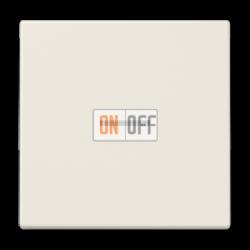 Выключатель 1-клавишный ,проходной с подсветкой (с двух мест), цвет Бежевый, LS990, Jung