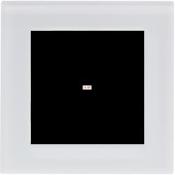 Рамка 1-ая (одинарная), Стекло Белое, серия Atlas Design Nature, Schneider Electric