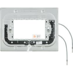 BT Axolute Суппорт с подсветкой 230 Вт 2,5мА 0,3Вт для прямоуг. рамки 3 мод