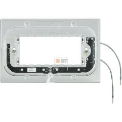 BT Axolute Суппорт с подсветкой 230 Вт 2,5мА 0,3Вт для прямоуг. рамки 4 мод