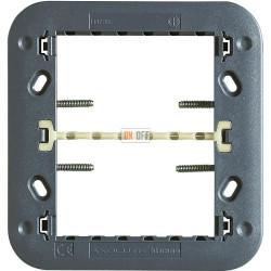 BT Axolute Суппорт для рамки на 3+3 модуля с винтами в комплекте