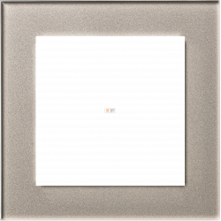Рамка 1-ая (одинарная), Стекло Шампань, серия Atlas Design Nature, Schneider Electric