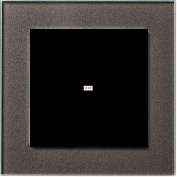 Рамка 1-ая (одинарная), Стекло Мокко, серия Atlas Design Nature, Schneider Electric