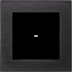 Рамка 1-ая (одинарная), Металл Оникс, серия Atlas Design Nature, Schneider Electric