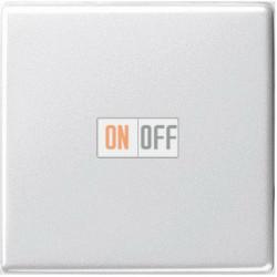 Выключатель 1-клавишный ,проходной (с двух мест), цвет Белый, Gira