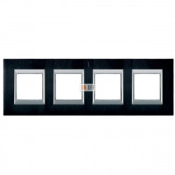 Рамка 4-ая (четверная) прямоугольная, цвет Антрацит, Axolute, Bticino