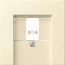 Розетка USB 2-ая для подзарядки (механизм Berker), цвет Бежевый, Gira