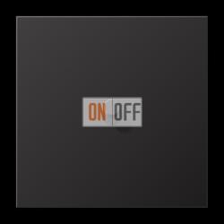 Выключатель 1-кл кноп. (тумблер-цилиндр), цвет Dark, LS1912