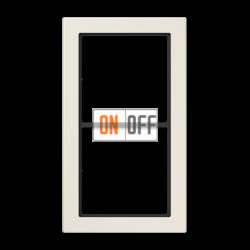 Рамка 2-ая (двойная) , цвет Бежевый, FD Design, Jung