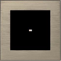 Рамка 1-ая (одинарная), Металл Латунь, серия Atlas Design Nature, Schneider Electric