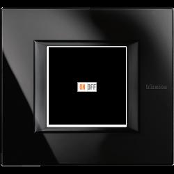 Рамка 1-ая (одинарная) прямоугольная, цвет Nighter, Axolute, Bticino