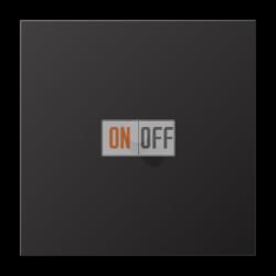Выключатель 1-кл кноп. НО (тумблер-конус), цвет Dark, LS1912