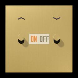Выключатель для жалюзи (рольставней) кноп. (тумблер-конус), цвет Classic, LS1912