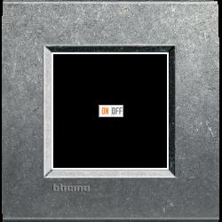 Рамка 1-ая (одинарная) прямоугольная, цвет Исконный, LivingLight, Bticino