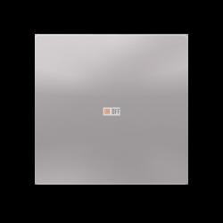 Выключатель 1-клавишный, Алюминий, серия Atlas Design, Schneider Electric