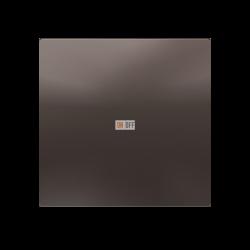 Выключатель 1-клавишный, Мокко, серия Atlas Design, Schneider Electric