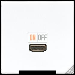 Розетка HDMI 1-ая (разъем), цвет Бежевый, LS990, Jung
