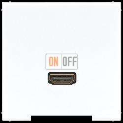 Розетка HDMI 1-ая (разъем), цвет Белый, LS990, Jung