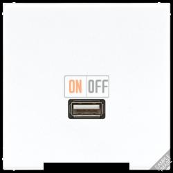 Розетка USB 1-ая (разъем), цвет Бежевый, LS990, Jung